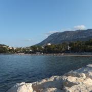 Strand Marineta dirket in Denia unterhalb des Montgo